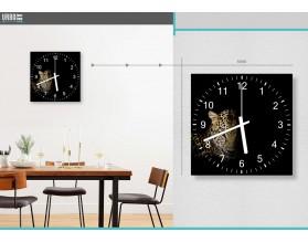 PORTRET LAMPARTA - zegar szklany