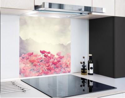 PASTELOWE MAKI - panel szklany