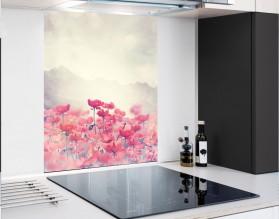 PASTELOWE MAKI - panel szklany - grafika