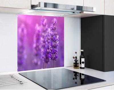 LAWENDA W SŁOŃCU - panel szklany