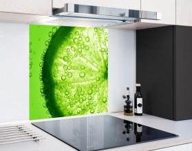 ZIELONA LIMONKA - hartowany panel szklany