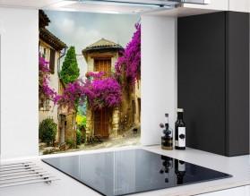 KLIMATYCZNA PROWANSJA - hartowany panel szklany - grafika