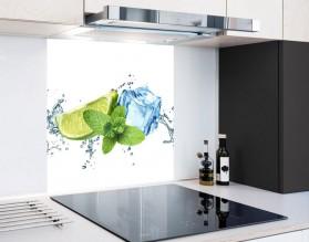 ŚWIEŻOŚĆ LIMONKI - hartowany panel szklany