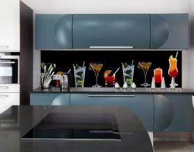 DRINKI - hartowany panel szklany do kuchni