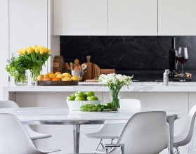 RED WINE - hartowany panel szklany do kuchni