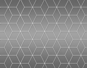 GRAY GEOMETRY DASCH - hartowany panel szklany do kuchni - grafika