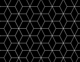 BLACK GEOMETRY DASCH - hartowany panel szklany do kuchni - grafika