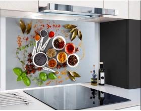 KOLOROWE PRZYPRAWY - hartowany panel szklany
