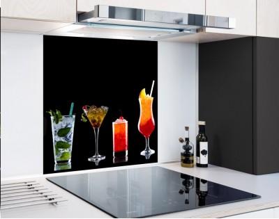 DRINKI - hartowany panel szklany