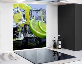 LIMONKA W LODZIE - hartowany panel szklany - grafika