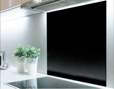 CZARNY - panel szklany