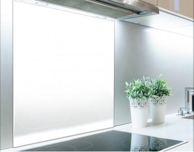 BIAŁY - panel szklany