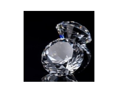 DIAMENTY - płytka szklana