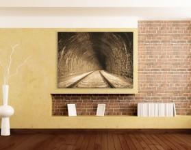 TUNEL RETRO - obraz na płótnie