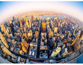 NOWY JORK W SŁOŃCU - obraz na płótnie - grafika