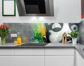 GRAFFITI - nowoczesny panel szklany