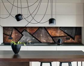 INDUSTRIAL - designerski panel szklany