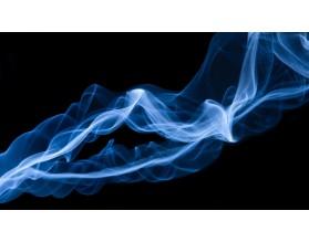 BLUE SMOKE - panel szklany - grafika