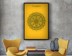 GOOSFRABA 2 - designerski plakat w ramie