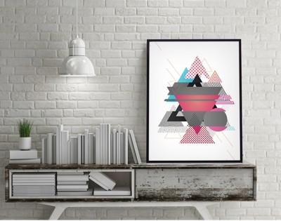 NEW AGE - designerski plakat w ramie