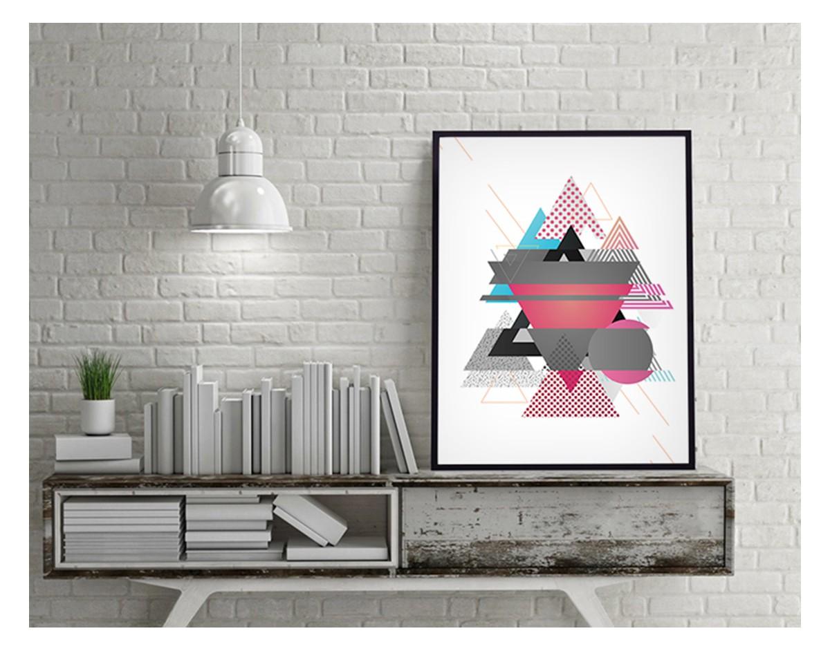 Plakaty ścienne - motyw Abstrakcja