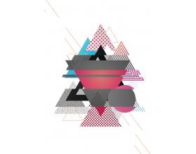 NEW AGE - designerski plakat w ramie - grafika