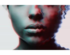 IRONIC - nowoczesny obraz na płótnie - grafika