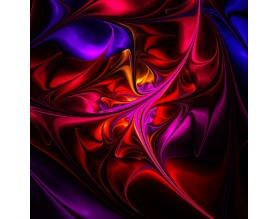 FRAKTAL 01 - obraz na szkle - grafika